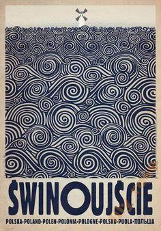 Świnoujście | Polish Poster by Ryszard Kaja