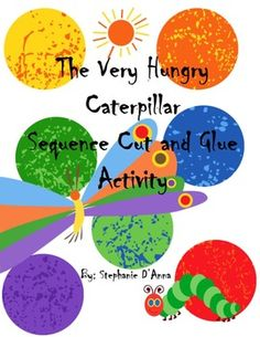 The Very Hungry Caterpillar Days of the Week Sequence Activity freebie