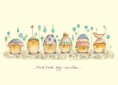 Two Bad Mice - egg-cessories Easter Illustration, Book Illustration, Illustration Inspiration, Anita Jeram, Easter Paintings, Easter Art, Hoppy Easter, Cute Drawings, Cute Art