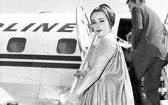 Slide 9 - 19 Vintage Shots of Celebrities on the Steps of Planes | Travel + Leisure