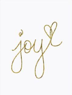 Joy.<3