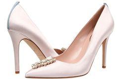 Sapato para Noiva | Sarah Jessica Parker - Tempest in Moonstone