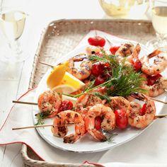 Skewered Shrimp Recipe - Delish