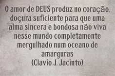 Pr C. J. Jacinto: A Doçura da Espiritualidade