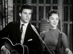 Ricky Nelson~Just Because(Duet) Love! I can't handle so much fucking adorableness!! *diiiieeesss* <3