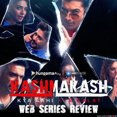 Kashmakash By MX Player & Hungama Play Web series Anthology Series, Web Series, Play, Watch, Movie Posters, Clock, Film Poster, Popcorn Posters, Film Posters