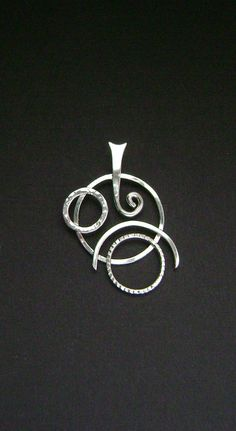 Sterling Silver Geometric Contemporary Pendant by SignetureLine