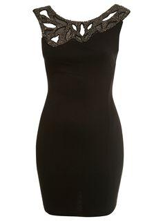 Asymetric Bodycon Dress.