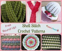 Shell Stitch Crochet | Shelling out the Shell Stitch Crochet Patterns - FREE