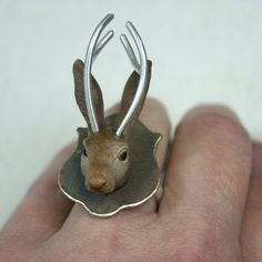 Jackalope Ring  от MikeandMary