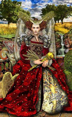 The Empress-Tarot Illuminati (not yet published).
