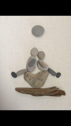 Pebble art by me