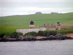 SCAPA FLOW HABOUR (front). Orkney. Scotland