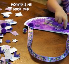 Lilly's Purple Plastic Purse- fun activities for purple day to go along with this wonderful book!
