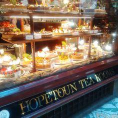 Hopetoun Tea Rooms, Block Arcade, Melbourne