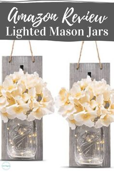 I kept seeing these lighted mason jar sconces on Amazon and decided to order them for myself. This video is a first time unboxing of these sconces. I love finding unique Amazon items and will share them with you. I am always on the lookout for new home decorating ideas. Check out my blog at sweetmagnoliahomedecor.com where I give tips and decorating hacks and talk about all things farmhouse decor.   #farmhousedecor #amazonproductreview #sweetmagnoliahomedecor Mason Jar Sconce, Mason Jar Lighting, Mason Jars, Decorating Hacks, Decorating On A Budget, Magnolia Home Decor, Sweet Magnolia, Farmhouse Decor, Sconces