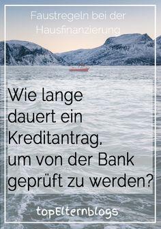 Erst nachdem die Bank alle Unterlagen hat und prüfen kann, weiß man, ob man überhaupt kreditwürdig ist und - wenn ja - wie gut oder schlecht es um die eigene Bonität bestellt ist...