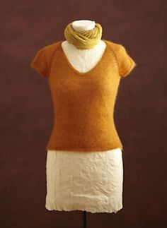 Ravelry: Sunset Raglan Tee pattern by Lion Brand Yarn