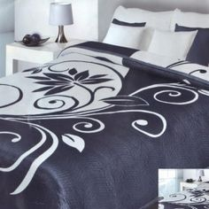 tmava prikryvka na postel Bed Sheets, Pillows, Design, Cushions, Throw Pillows, Bed Linens, Bed Linen, Dorm Room Bedding