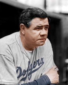 Babe Ruth - Brooklyn Dodgers