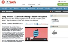 """Ken Courtright signed on to author  """"Guerrilla Marketing Today"""" 