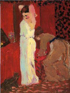 Edouard Vuillard : Actrice dans sa Loge (1892)