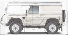 The Pinzgauer has a greater load capacity 1000kg v 895kg Landrover 110 ...