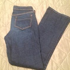 Blue jeans Blue jeans. Size 6. Regular. Great shape, no wear shown! Old Navy Jeans