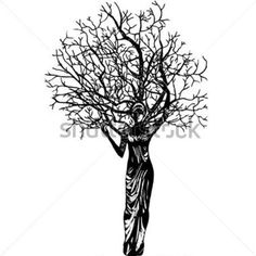 The Woman A Tree and Butterfly stock vector - Clipart. Butterfly Clip Art, Tree Woman, Clipart Images, Vector Clipart, Tree Graphic, Tattoo Inspiration, Vector Free, Illustration, Trees