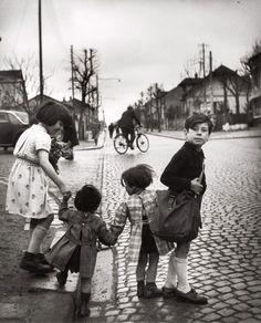Los niños de Villejuif, - 1945 Robert Doisneau