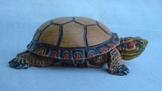 Hand carved Turtle Jewelry box by Canadian by RobertKellyCarvings, $2799.00