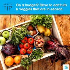 #TipTuesday: Eating healthy may be wonderful for your body and mind, but it can take a toll on your wallet. One way you can save is by buying in-season produce!    Not only are in-season fruits and veggies typically the tastiest, they're often sold at the lowest price. Some common fruits and vegetables that are in-season for winter include: Grapefruit, oranges, potatoes, yams, onions and leeks.
