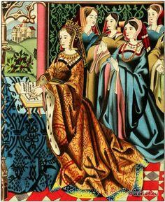 Margaret of Anjou 1430-1482 wife of King Henry VI of England.
