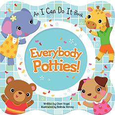 ", Cottage Door Press ""everybody Potties!"" By Cheri Vogel , Cottage Door Press ""everybody Potties!"" By Cheri Vogel. Potty Training Books, Toilet Training, Toddler Learning, Toddler Preschool, Toddler Potty, Toddler Girl, Toddler Books, Childrens Books, Best Potty"