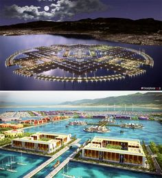 Floating Agricultural and Industrial City for Haiti
