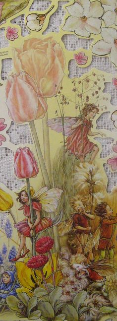 England Paper Scraps Lithograph Die Cut Flower Fairies Cicely Mary Barker Out Of Print Cicely Mary Barker, Fairy Dust, Fairy Land, Fairy Tales, Famous Fairies, Elves And Fairies, Vintage Fairies, Love Fairy, Flower Fairies