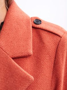 Orange AW16 - Vimaja coat
