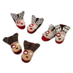 repurposed sweater animal mittens