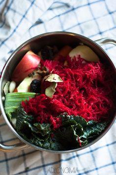 jadłonomia · roślinne przepisy: Mój barszcz wigilijny