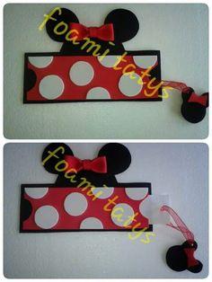Invitacio minnie mouse roja