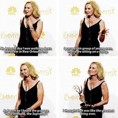 Jessica Lange is my queen (So is Lady Gaga and Sarah Paulson lol)