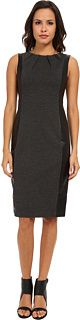 NYDJ Mia Ponte Faux Leather Dress Is on sale now for -25 % !