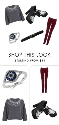 """""""Untitled #24"""" by lialil on Polyvore featuring Effy Jewelry, AG Adriano Goldschmied, MICHAEL Michael Kors and Linea Pelle"""