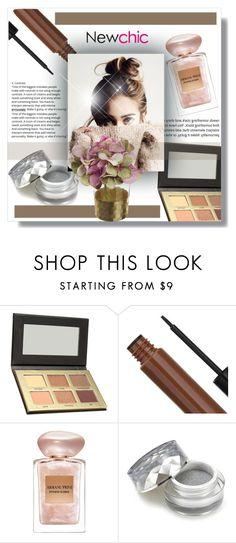 """Untitled #654"" by dianagrigoryan ❤ liked on Polyvore featuring beauty and Giorgio Armani"
