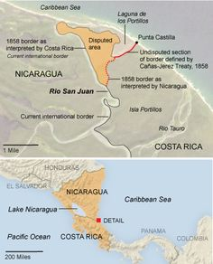 Did Google Maps almost cause a war in 2010? On Nov. 3 of that year, Edén Pastora, the Nicaraguan official tasked with dredging the Rio San Juan, justified his country's incursion into neighboring Costa Rica's territory by claiming that, contrary to the customary borderline, he wasn't trespassing at all. For proof, he said, just look at Google Maps.