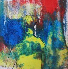 """Els Driesen, """"man op weg"""" (133) Mit einem Klick auf 'Als Kunstkarte versenden' versenden Sie kostenlos dieses Werk Ihren Freunden und Bekannten."""