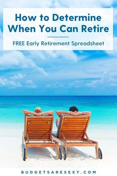 How do you determine when you can retire early? Grab this free early retirement spreadsheet and find out what you have to do to retire early. | Budgets Are Sexy Money Saving Meals, Save Money On Groceries, Ways To Save Money, Money Tips, Saving For Retirement, Early Retirement, Retirement Savings, Required Minimum Distribution