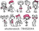 Cute cartoon characters vector material vector, free vector images - Vector.us