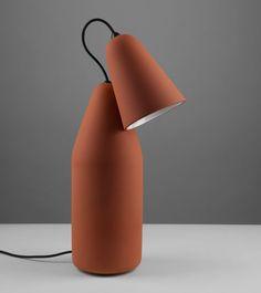 Terracotta Lamp designed by Tomáš Kral Interior Lighting, Lighting Design, Task Lighting, Color Terracota, Blog Design Inspiration, Design Ideas, Bright Homes, Room Lamp, Chandeliers