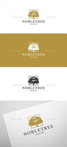 Noble Tree Logo - Nature Logo Templates